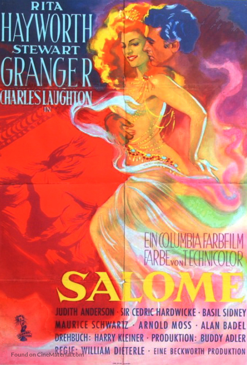 Salome - German Movie Poster