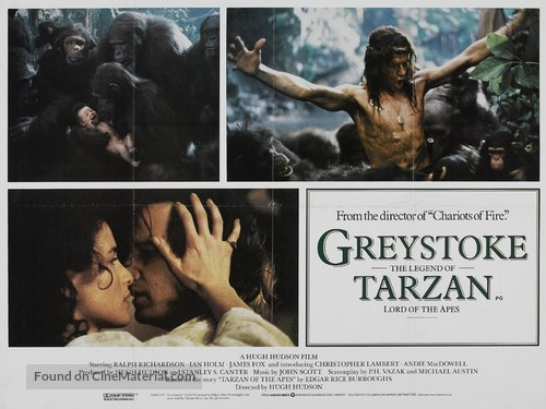 Greystoke - British Movie Poster