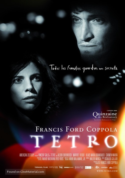 Tetro - Spanish Movie Poster