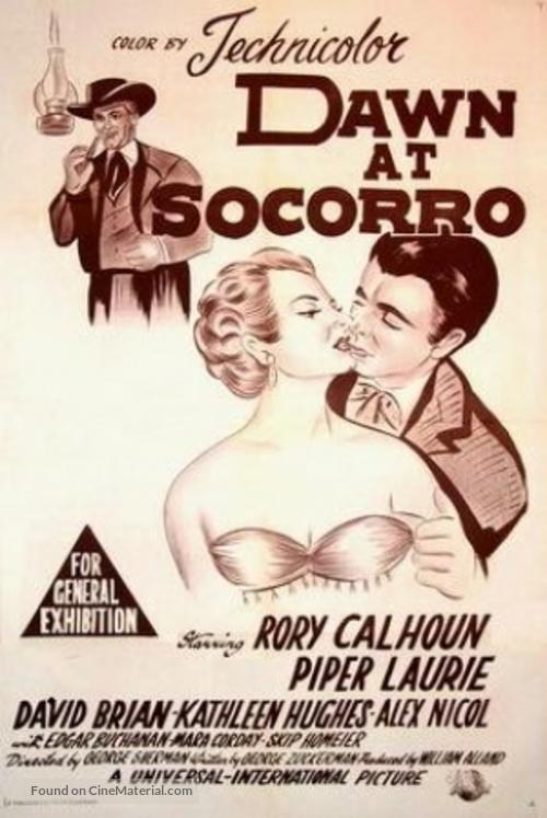 Dawn at Socorro - Australian Movie Poster