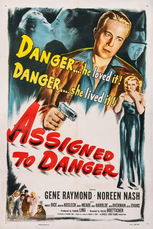 Assigned to Danger - Movie Poster