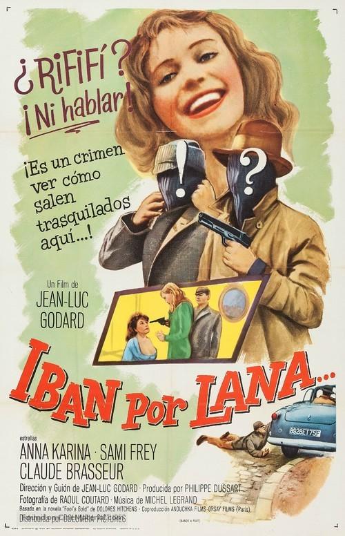 Bande à part - Spanish Movie Poster