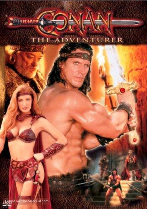 """""""Conan"""" - DVD movie cover"""