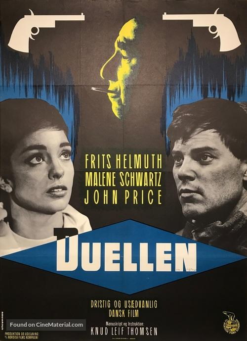 Duellen - Danish Movie Poster