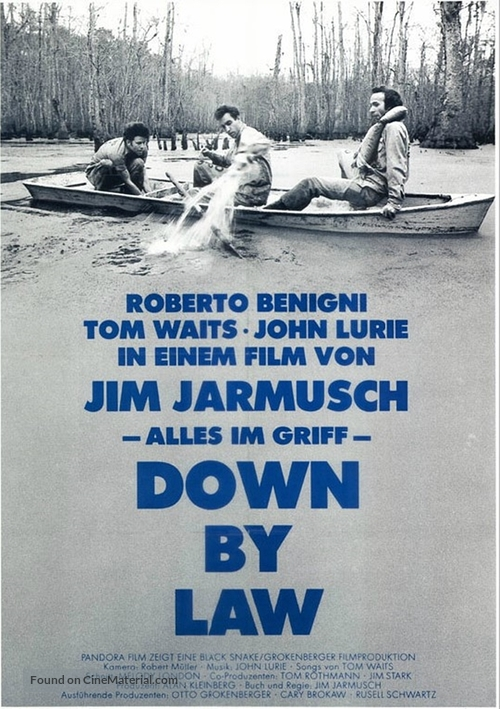 Down by Law - German Movie Poster