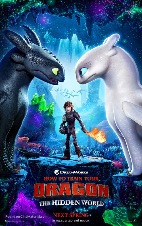 How to Train Your Dragon: The Hidden World - Teaser movie poster