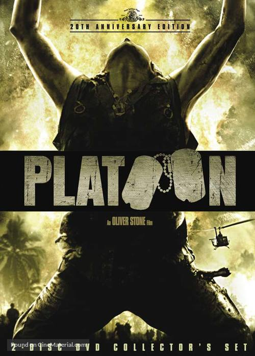 Platoon - DVD movie cover