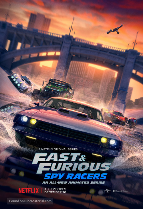 """Fast & Furious"" - Movie Poster"