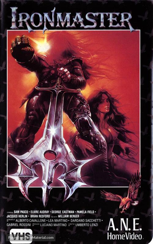 La guerra del ferro - Ironmaster - VHS cover