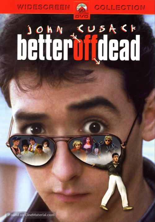 Better Off Dead... - DVD movie cover