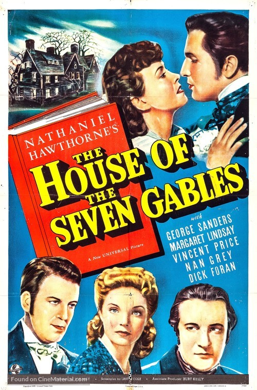 The House of the Seven Gables - Movie Poster