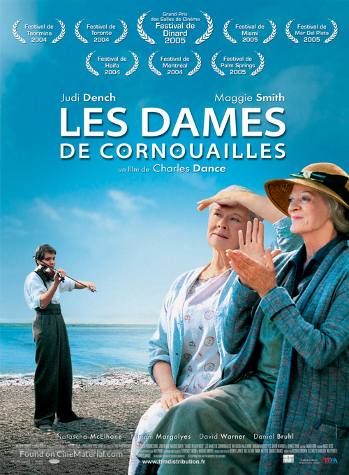 Ladies in Lavender - French Movie Poster