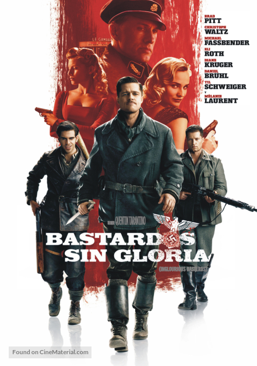 Inglourious Basterds - Argentinian Movie Poster