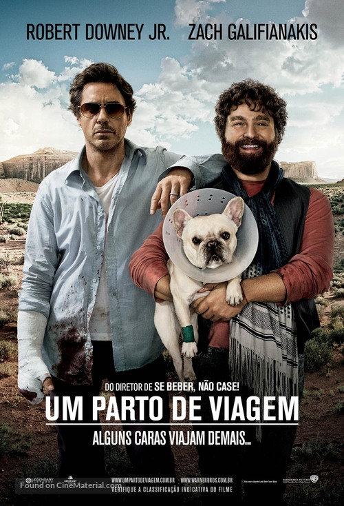 Due Date - Brazilian Movie Poster