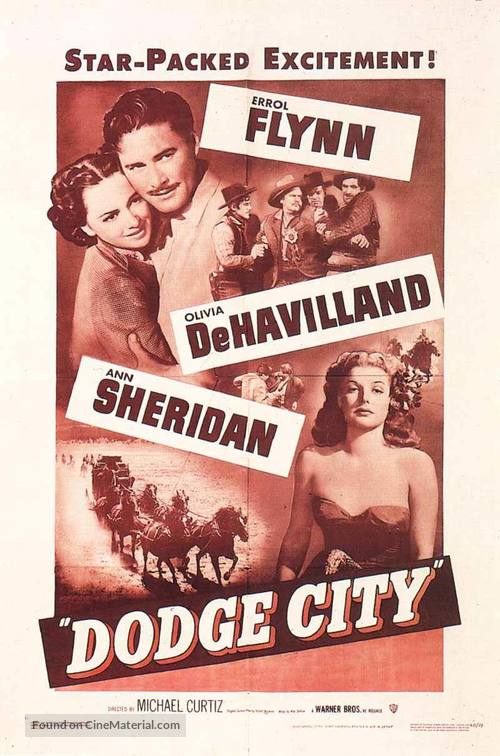 Dodge City - Movie Poster