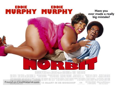 Norbit - Dutch poster
