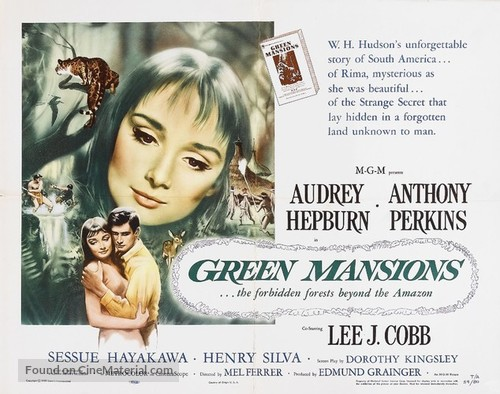 Green Mansions - Movie Poster