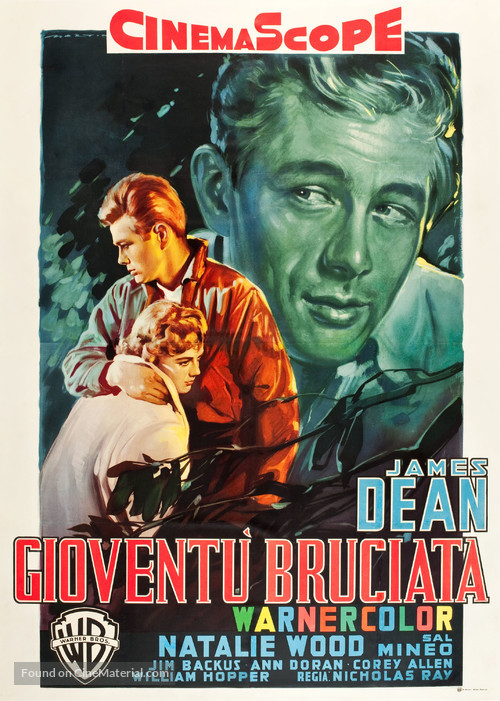 Rebel Without a Cause - Italian Movie Poster