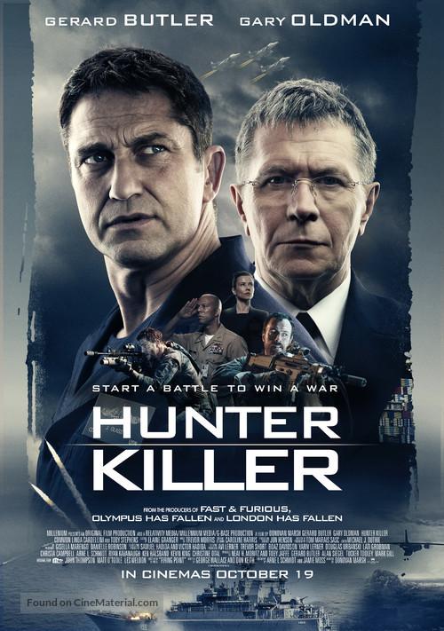 Hunter Killer - British Movie Poster