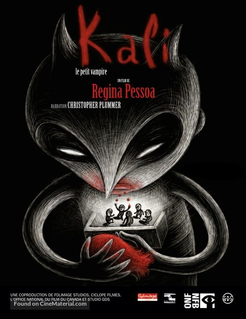 Kali, le petit vampire - French Movie Poster