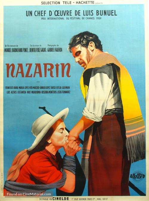 Nazarín - French Movie Poster