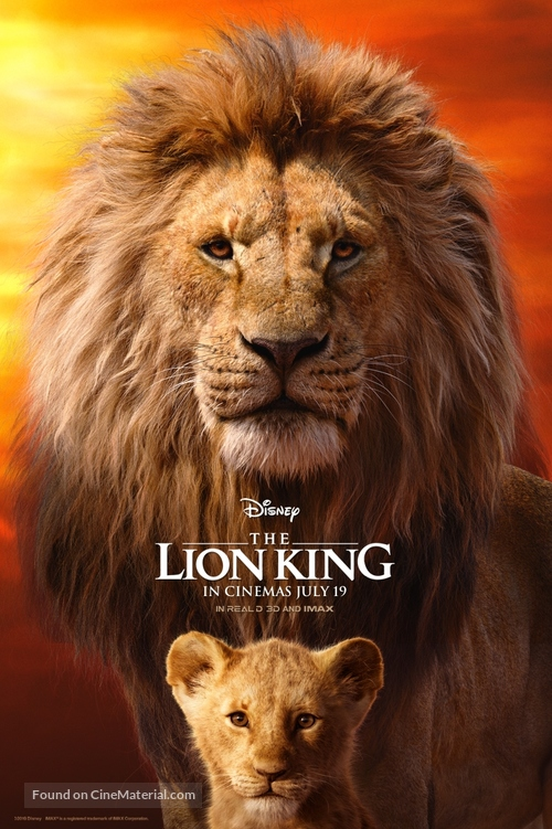 The Lion King - British Movie Poster