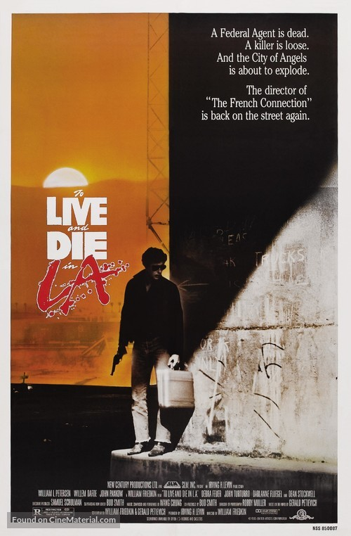 To Live and Die in L.A. - Theatrical poster