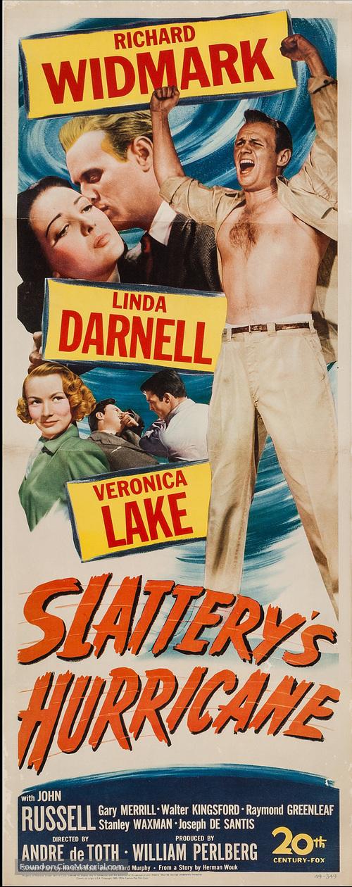 Slattery's Hurricane - Movie Poster