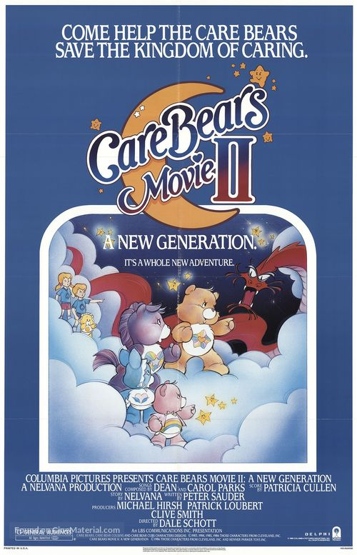 Care Bears Movie II: A New Generation - Movie Poster