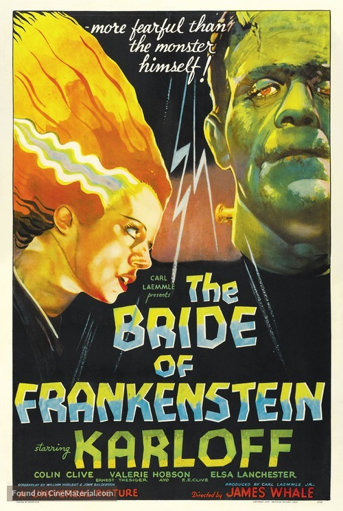 Bride of Frankenstein - Movie Poster