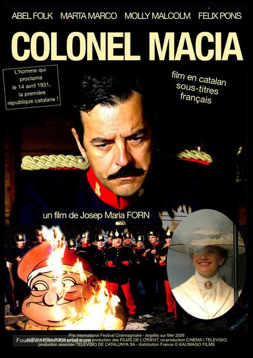El coronel Macià - French Movie Poster