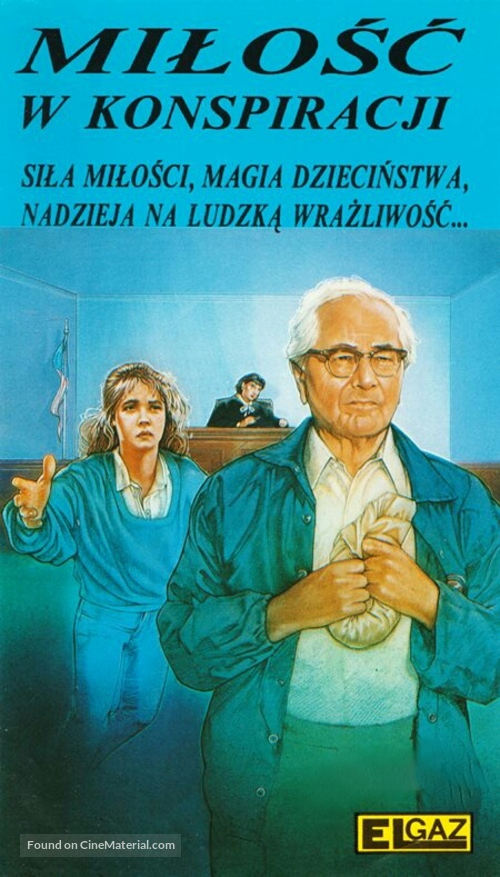 A Conspiracy of Love - Polish VHS movie cover