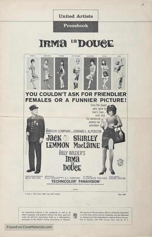Irma la Douce - Movie Poster