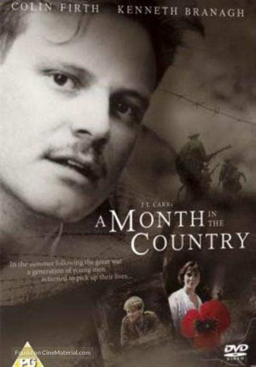A Month in the Country - British DVD cover