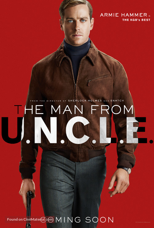 The Man from U.N.C.L.E. - British Character poster