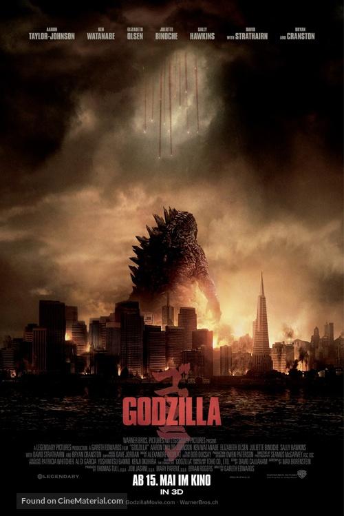 Godzilla - Swiss Movie Poster