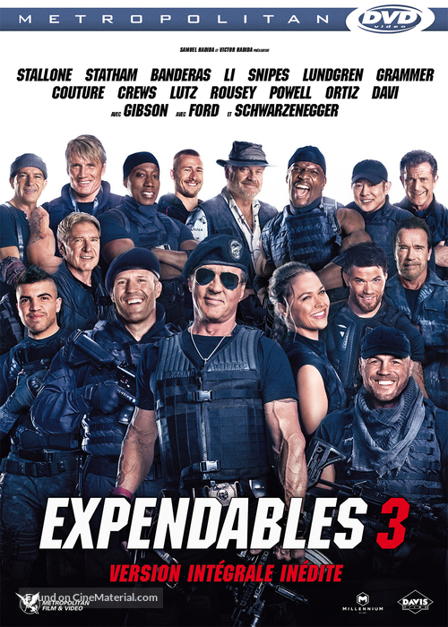 The Expendables 3 - French DVD cover