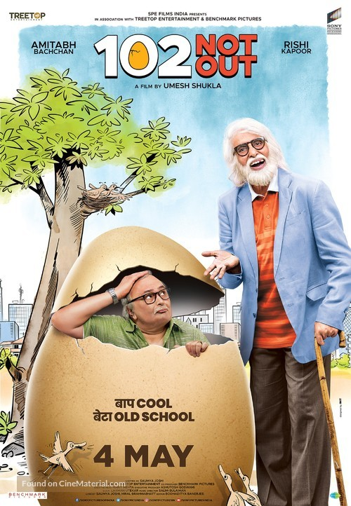 102 Not Out - Indian Movie Poster