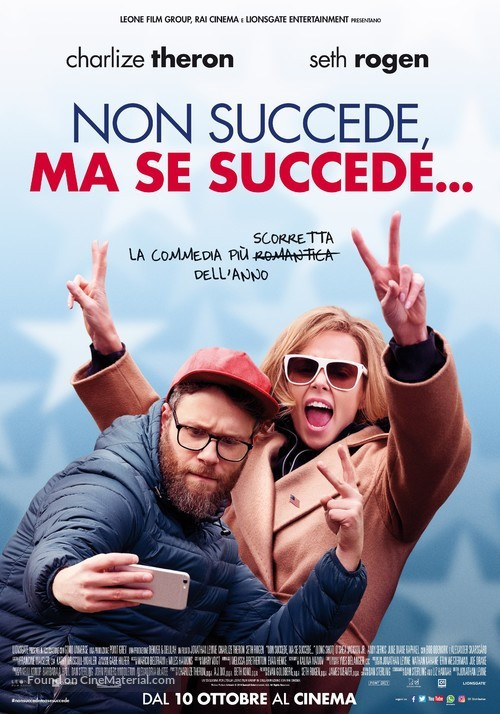 Long Shot - Italian Movie Poster