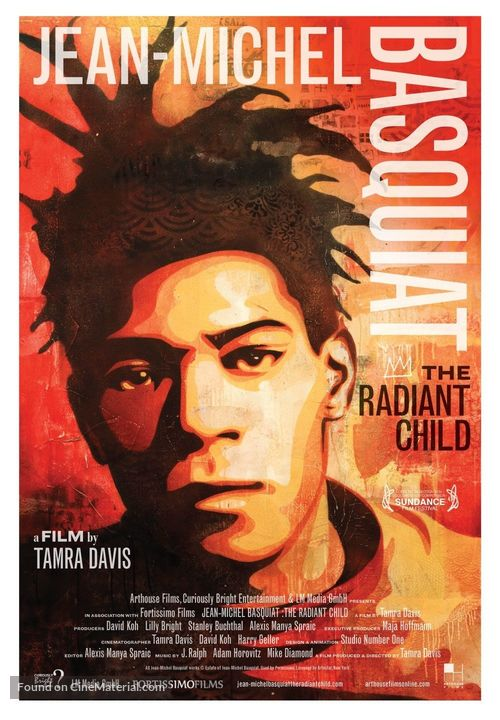 Jean-Michel Basquiat: The Radiant Child - Movie Poster