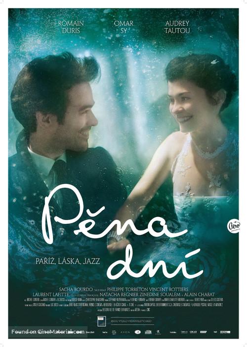 L'écume des jours - Czech Movie Poster