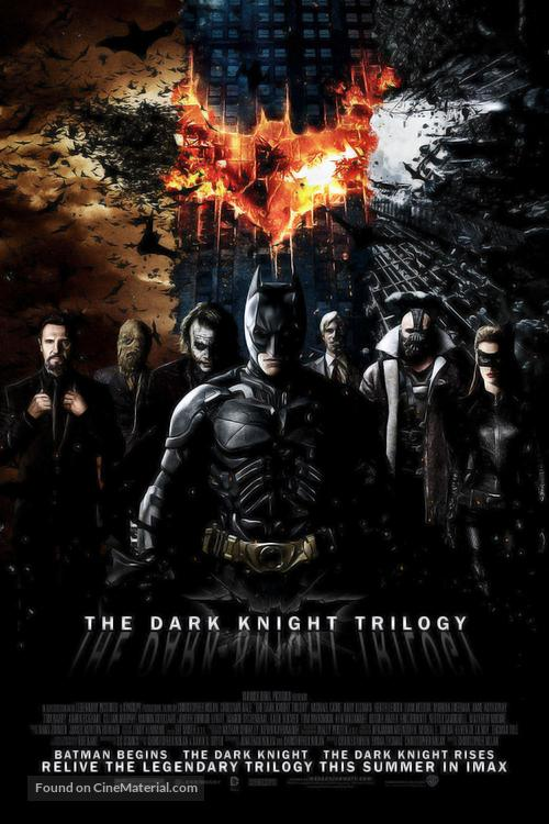 The Dark Knight Rises - Combo movie poster