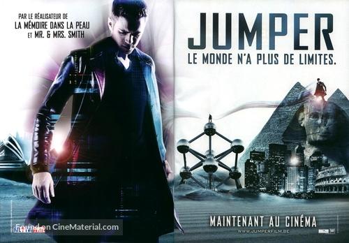 Jumper - Belgian Movie Poster