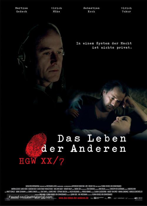 Das Leben der Anderen - German Movie Poster
