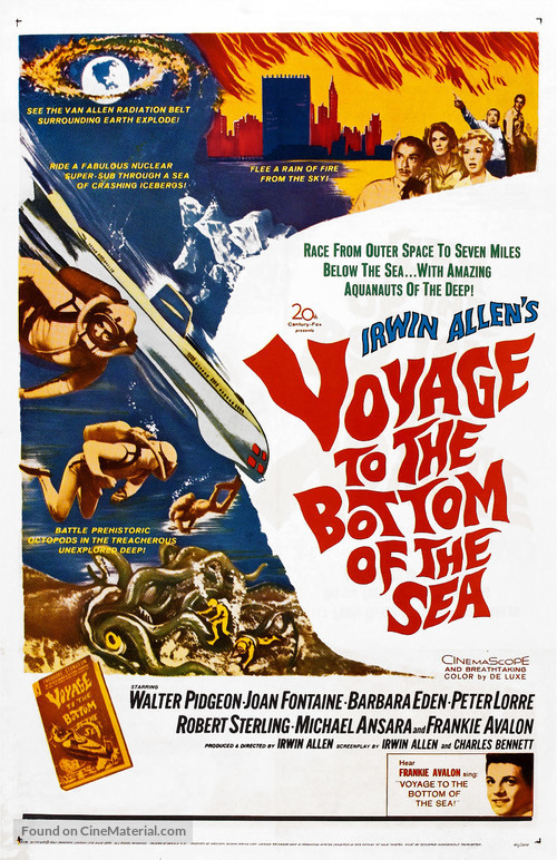 Voyage to the Bottom of the Sea - Theatrical poster