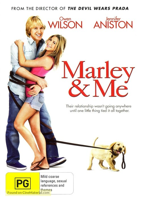 Marley & Me - Australian Movie Cover