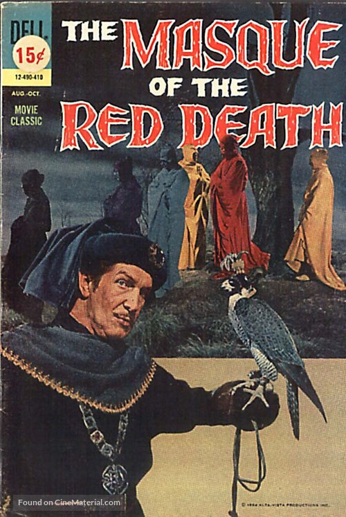 The Masque of the Red Death - poster