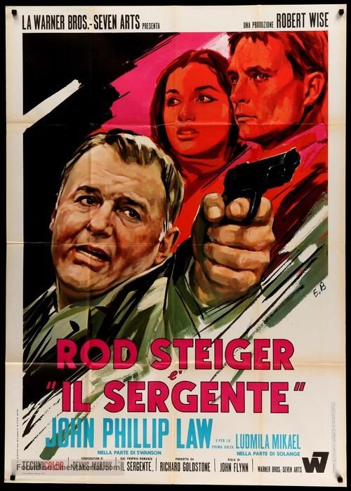 The Sergeant - Italian Movie Poster