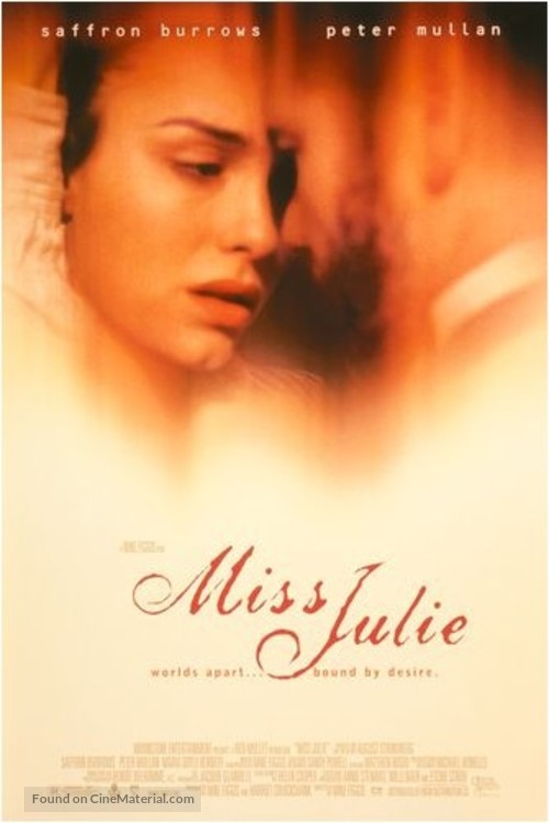 Miss Julie - Movie Poster