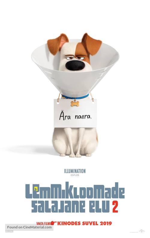 The Secret Life of Pets 2 - Estonian Movie Poster